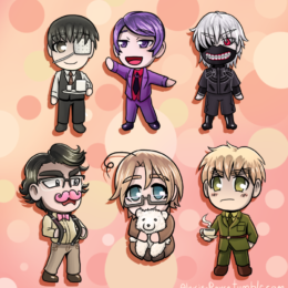 Oct chibi set 2